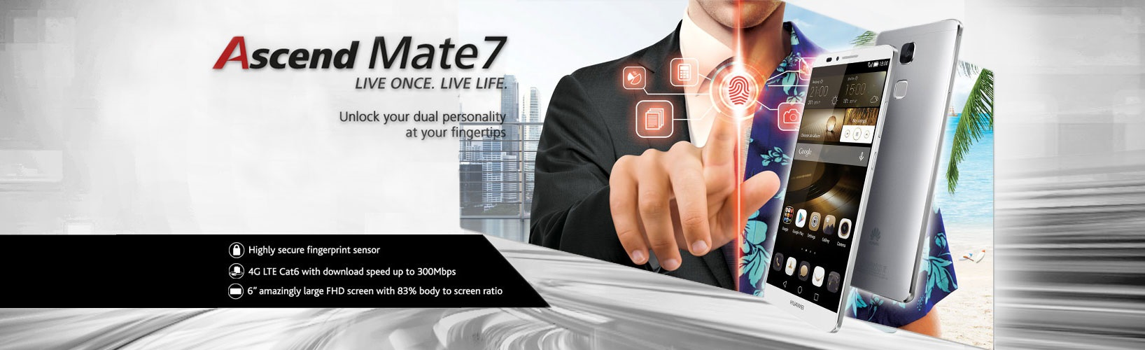 Mate 7 LTE Dual Sim