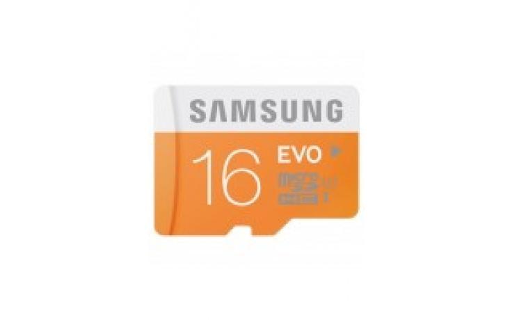 Samsung MicroSDHC 16GB EVO Memory Card