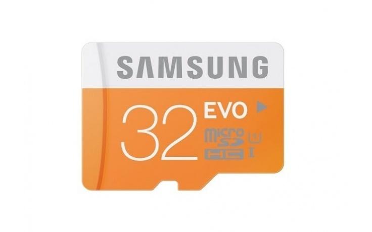 Samsung MicroSDHC 32GB EVO Memory Card