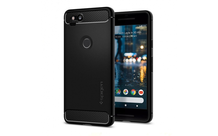 Spigen Pixel 2 XL Rugged Armor Case