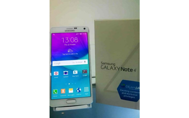 Samsung Galaxy Note 4 White used