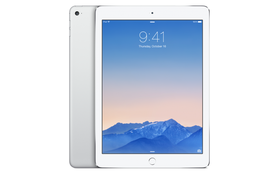 Apple iPad Air 2 Wi-Fi Silver