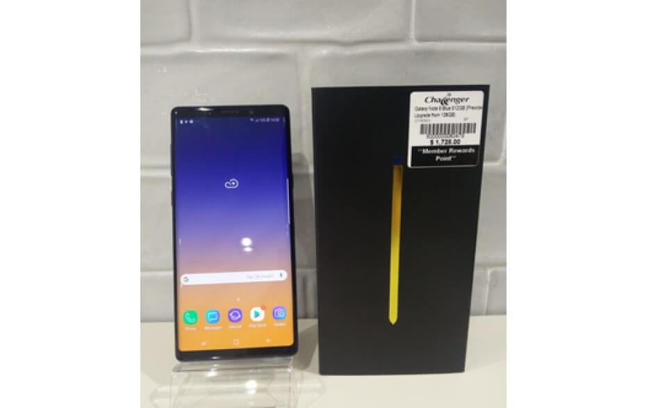 Samsung Galaxy Note 9 512GB Blue used