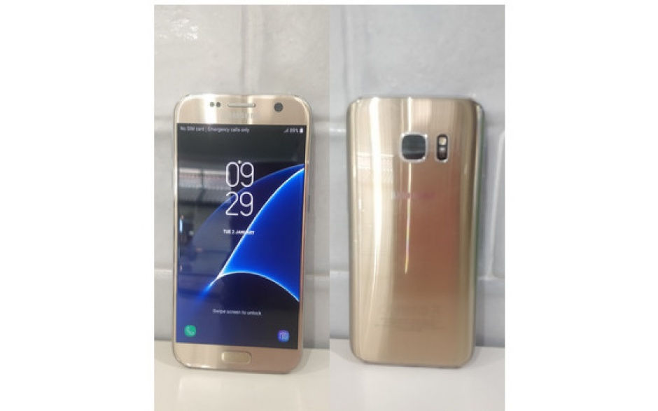 Samsung Galaxy S7 Gold used