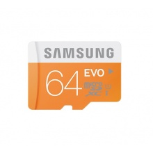 Samsung MicroSDHC 64GB EVO Memory Card
