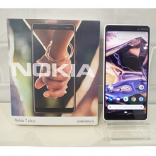 Nokia 7 Plus black used