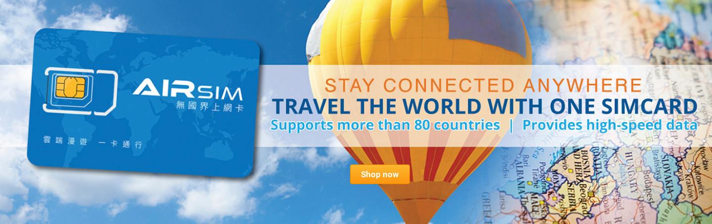 Airsim Travel Data Card