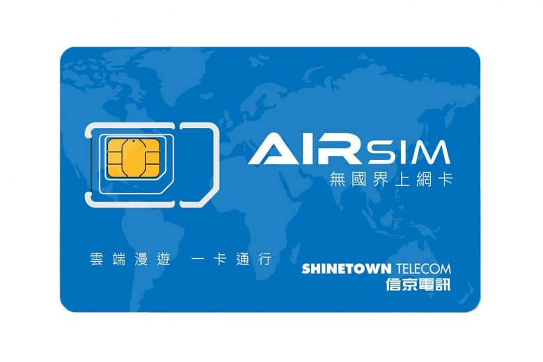 Airsim Travel Data Card