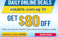 Courts Daily Online Deals!