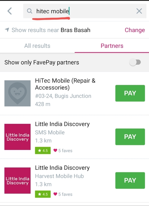how to use Favepay