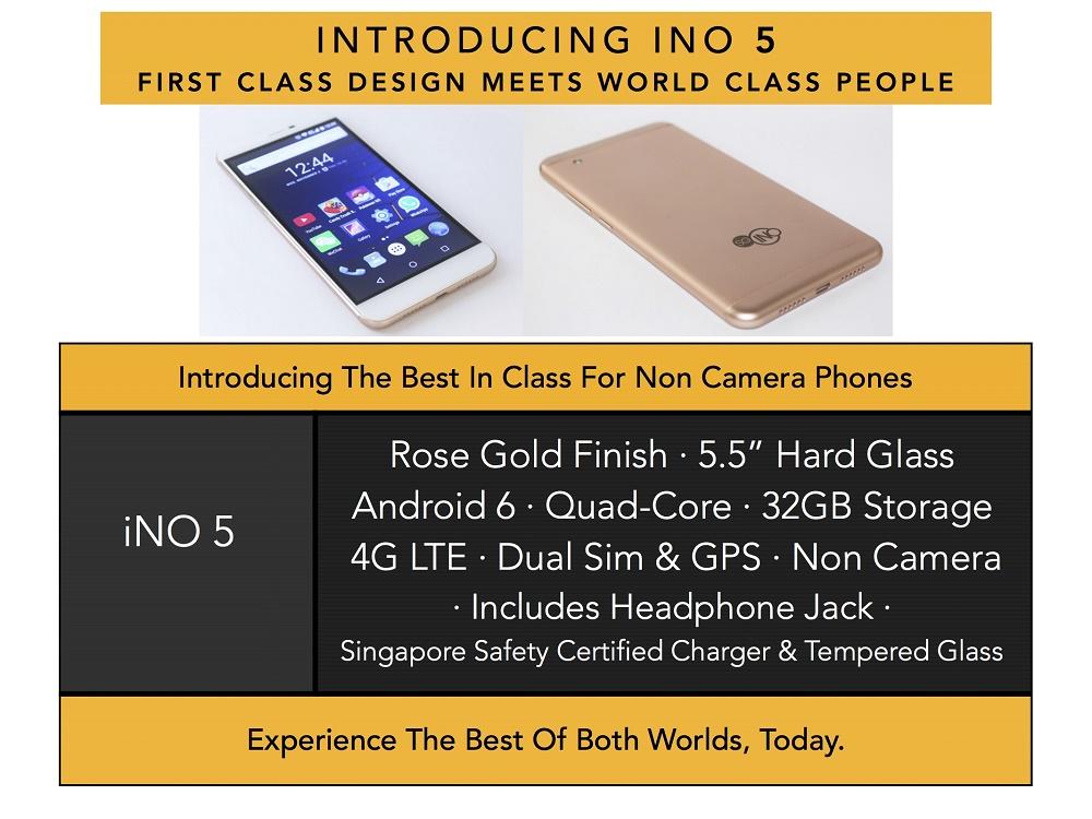 iNO 5 Price Singapore