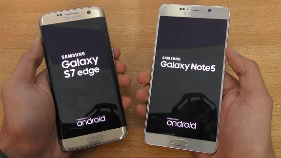 Note 5 Vs S7 Edge Review