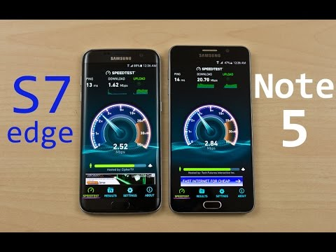 Note 5 Vs S7 Edge Performance