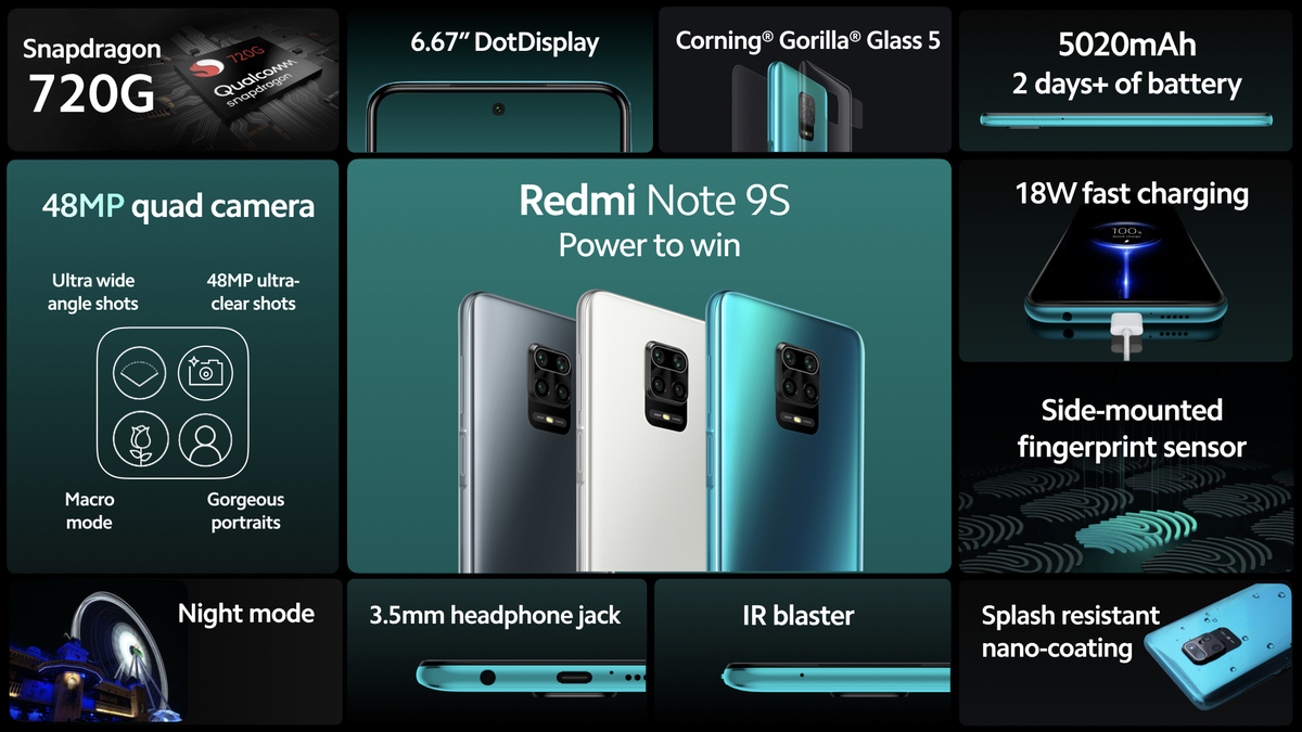 Redmi Note 9s Singapore