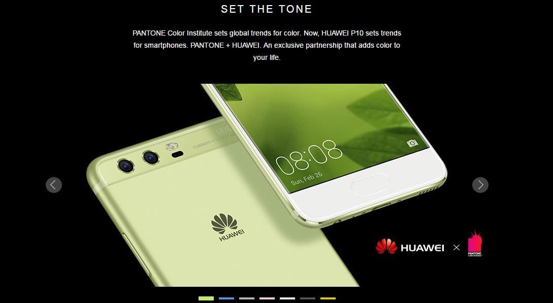 Huawei P10 price in Singapore