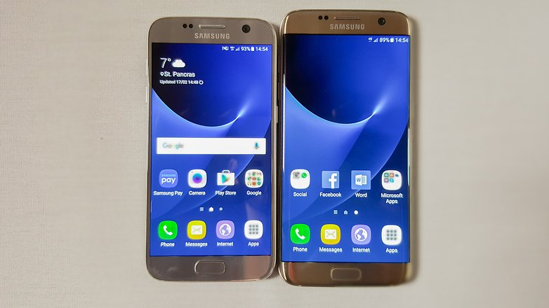 S7 Vs S7 Edge Review