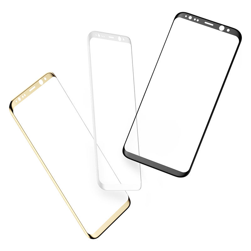 Samsung S8 3D Full Screen Tempered Glass