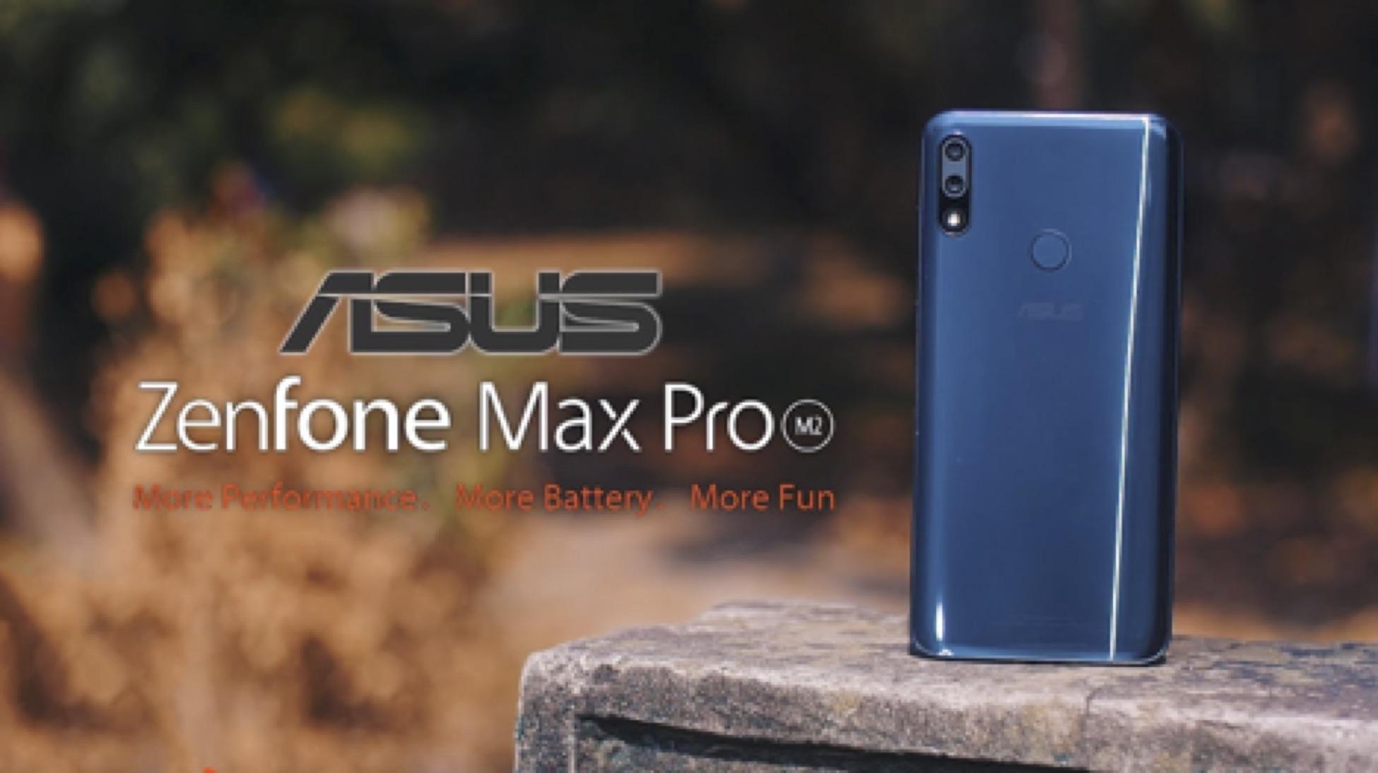 Asus Zenfone Max Pro M2 Singapore