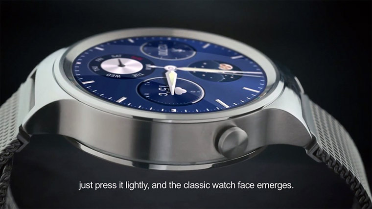 Huawei Watch Design