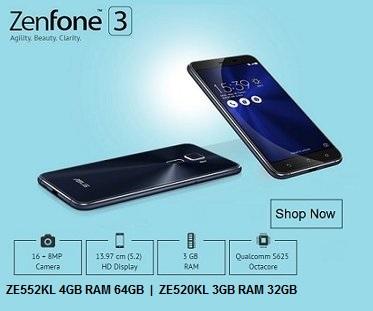 ZenFone 3 Singapore