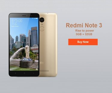 Redmi Note 3 Price