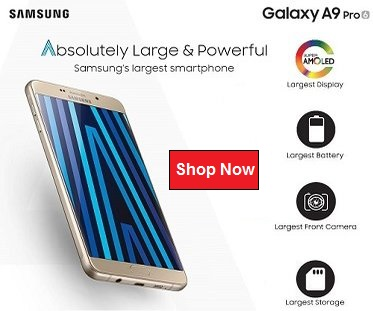 Samsung A9 Pro Singapore
