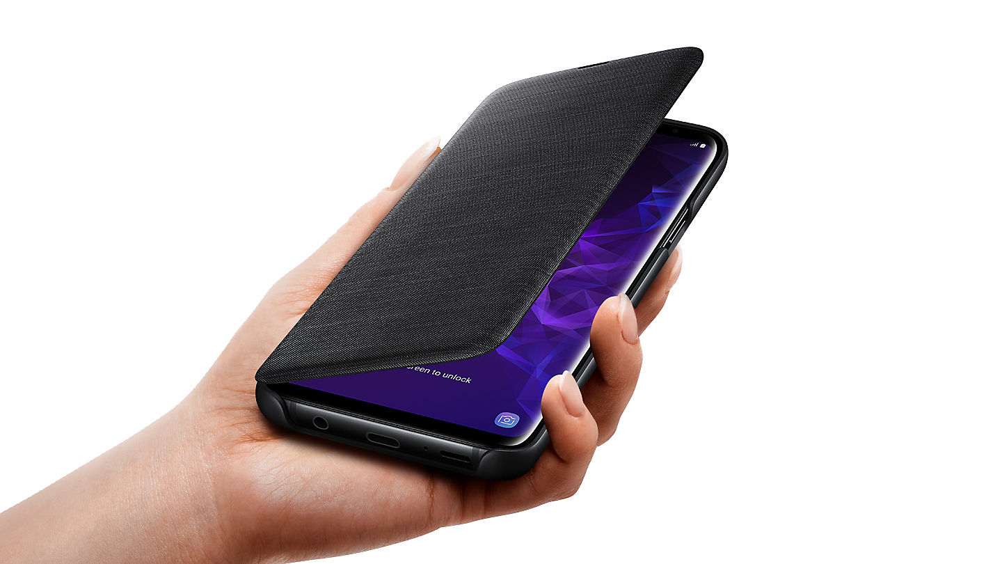 Samsung S9+ led view cover