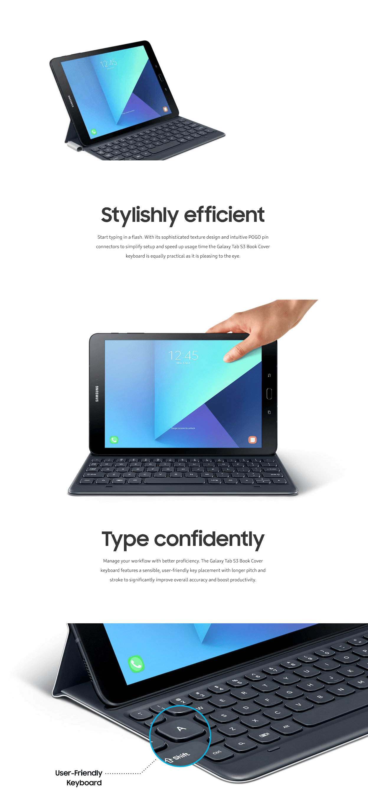 tab s3 keyboard cover